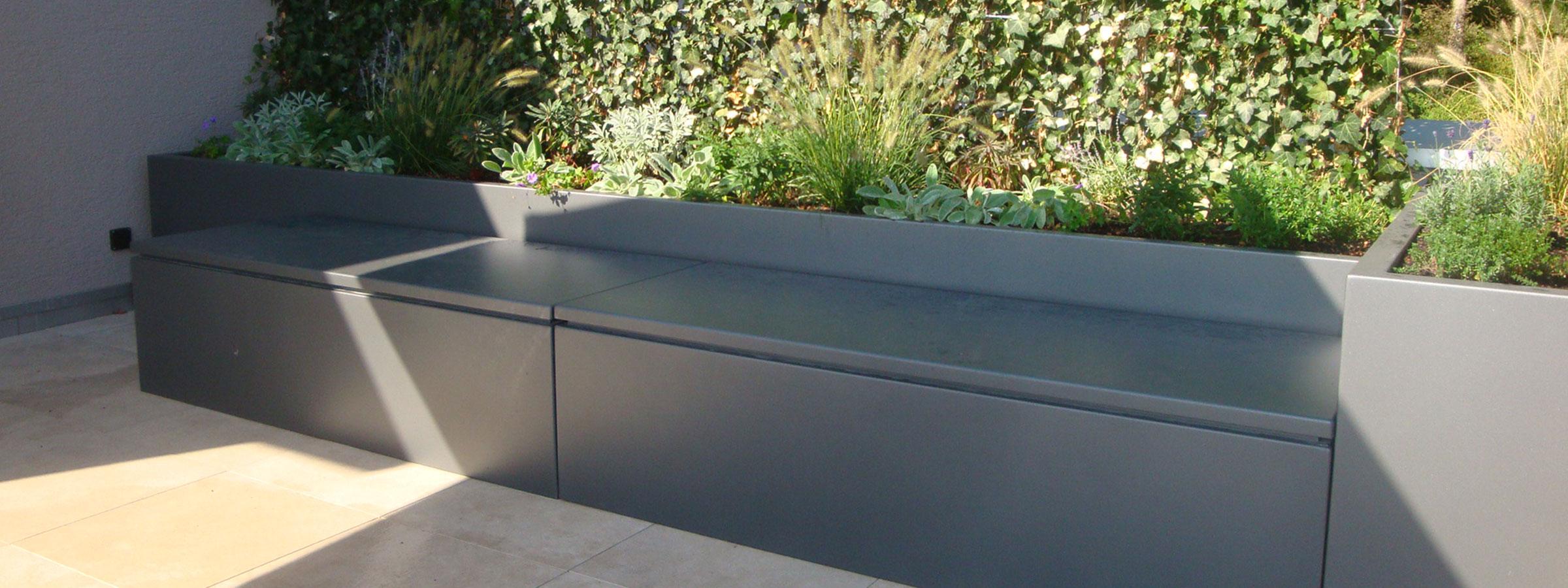 Luxus Gartenbank Mit Truhe Wasserdicht Ideen